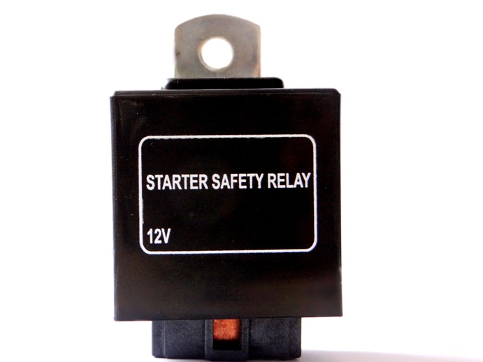 Starter Safety / Interlock Relay: