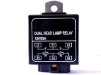 Dual Headlamp Relay: